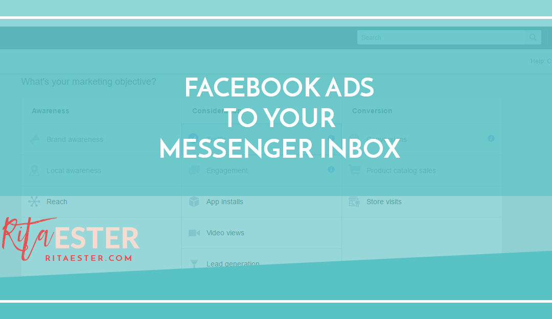 Facebook Ads To Your Messenger Inbox